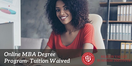 100% Online MBA - Tuition Waived! tickets
