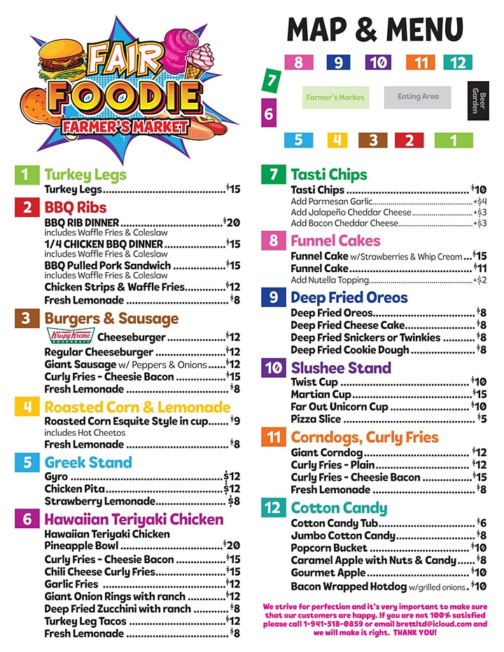 FREE In-Person Fair Foodie Fest @ Toyota Arena image