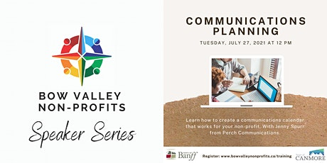 Bow Valley Non-Profits Speaker Series - Communications Strategy tickets