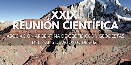 XXIX Reunión Científica AAGG2021 entradas