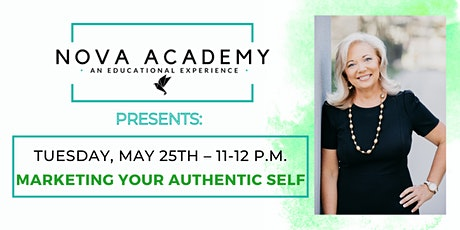Marketing your Authentic Self with Kathy Moore - Development Coach Novation tickets