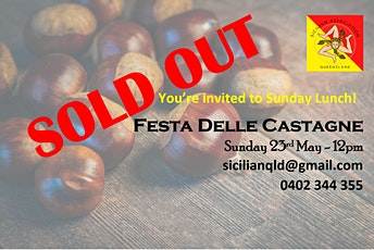 Lunch - Festa Delle Castagne / Celebration of Roasted Chestnuts tickets