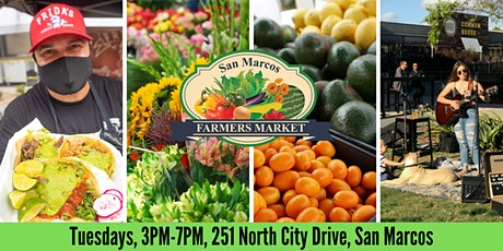 San Marcos Farmers Market tickets