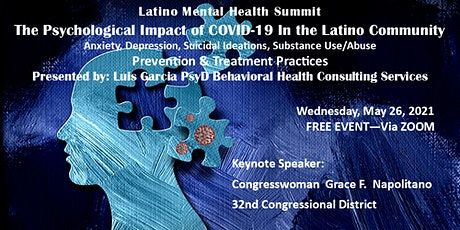 The Psychological Impact of COVID-19 in the Latino Community tickets