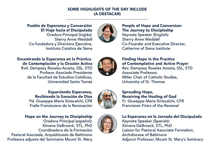New York Catholic Bible Summit: Join Us in A Renewal of Hope image