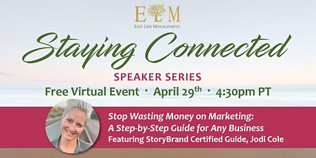 Staying Connected Speaker Series tickets