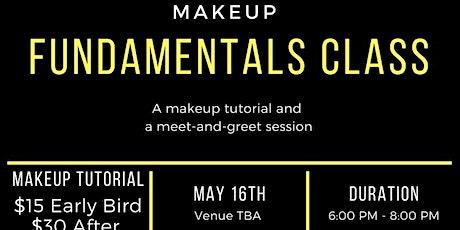 Make up Fundamentals tickets