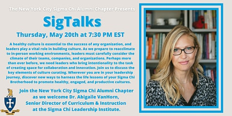 SigTalks: Curating Culture w/ Dr. Abigaile VanHorn of SCLI tickets