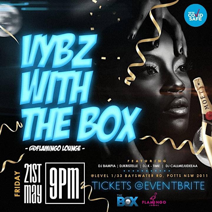 Vybz with The Box@Flamingo Lounge image