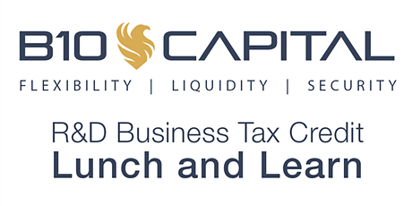 Lunch and Learn: R&D Business Tax Credits (Utah County, Utah) tickets