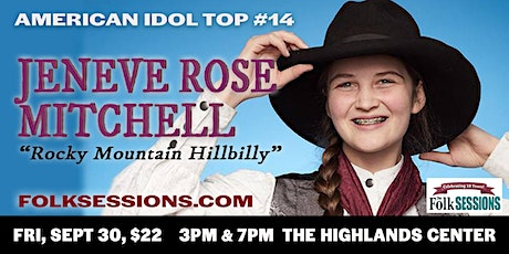 Jeneve Rose Mitchell in Concert tickets