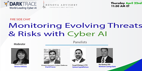 FireSide Chat : Monitoring Evolving Threats and Risks with Cyber AI tickets
