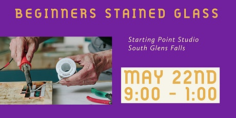 Beginners Stained Glass Class tickets