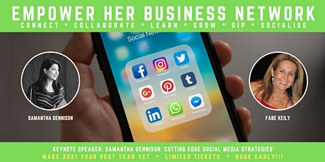 EMPOWER HER BUSINESS - SOCIAL MEDIA SECRETS EXPOSED tickets