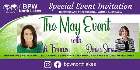 BPW North Lakes May Event tickets