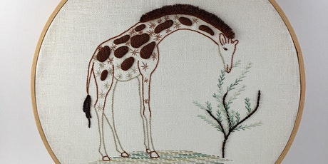 Introduction to Embroidery: Contemporary Animal tickets