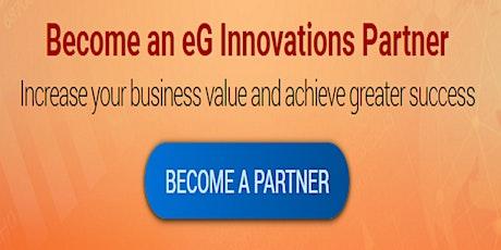 Channel Partnerships w/ eG Innovations - KICK start your program with eG! tickets
