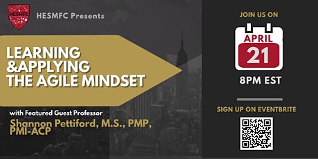 Agile Project Management: Learning and Applying the Agile Mindset tickets