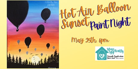 Hot Air Balloon Paint Night tickets