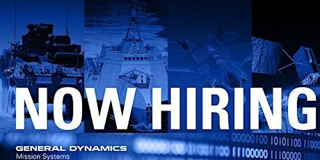 "TVC (West Tx) Presents, "" General Dynamics Virtual Employer Showcase Event"" tickets"