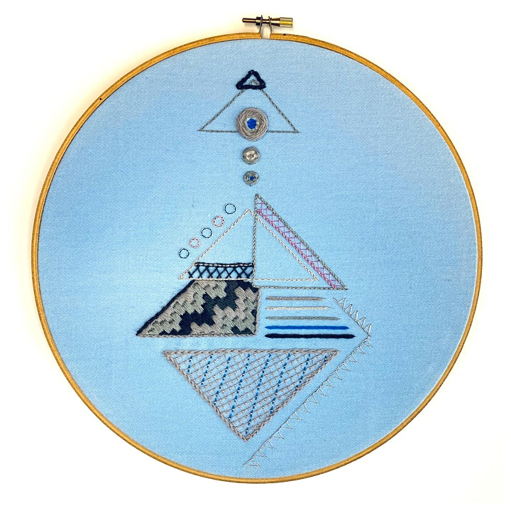 Introduction to Embroidery: Contemporary Geometric image