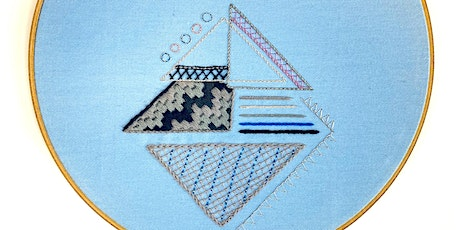 Introduction to Embroidery: Contemporary Geometric tickets