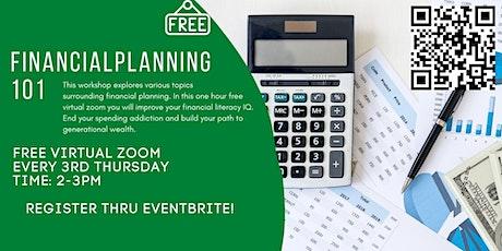 8/19/2021 Financial Planning 101 tickets