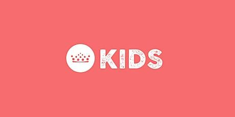 Servicio de niños 1 PM (2-8 años): Domingo 18 de abril, 2021 boletos