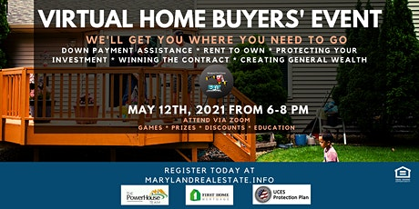 Virtual Home Buyers' Event tickets