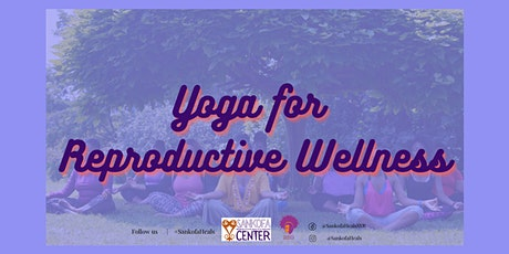 Yoga for Reproductive Wellness: Menopause tickets