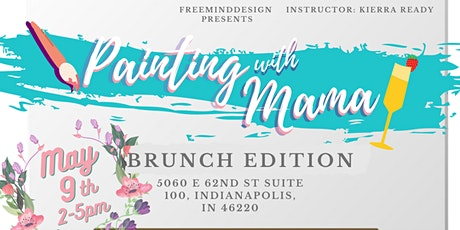 Mothers Day Wine Canvas Brunch Painting With Mama tickets