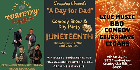 JUNTEENTH COMEDY SHOW & DAY PARTY tickets