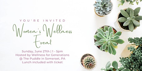 3rd Women's Wellness Event tickets