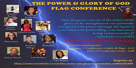 The Power and Glory of God tickets