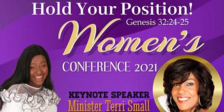 """Hold Your Position!"" Women's Conference tickets"