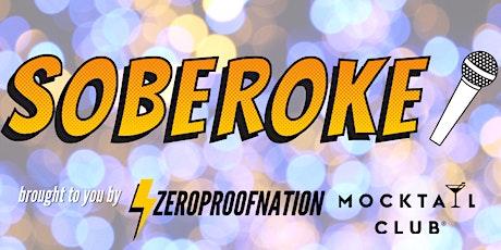 ZPN x Mocktail Club Soberoke Night ⚡️  tickets