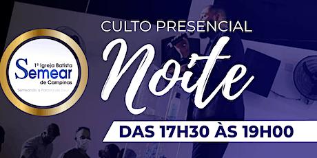 CULTO 3 (NOITE) - CELEBRAÇÃO DA FAMÍLIA  - 17h30 | @ibsemearcampinas tickets