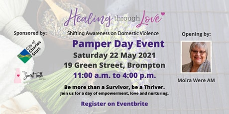 Healing Through Love Pamper Day 2021 tickets