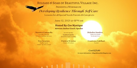 Developing Resilience Through  Self Care tickets