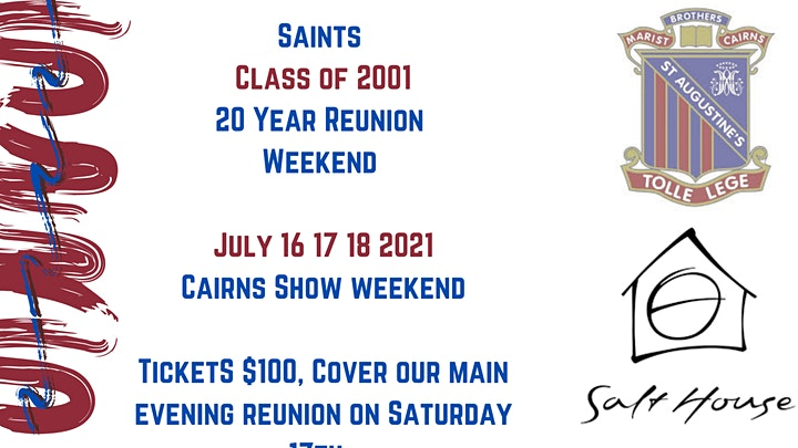 Saint Augustine's Class of 2001 20 Year Reunion image