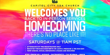 CapCity In-person Sabbath Service tickets