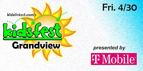 Grandview Kidsfest -  Character Visit + VIP Entry Bag (5PM-  8PM) tickets