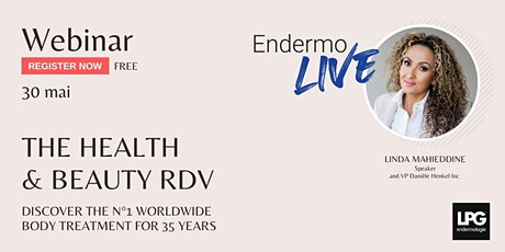 The upcoming endermologie meeting for health and beauty professionals tickets