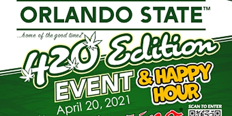 420 Edition Event & Happy Hour (CFL 1st 420 Event) tickets
