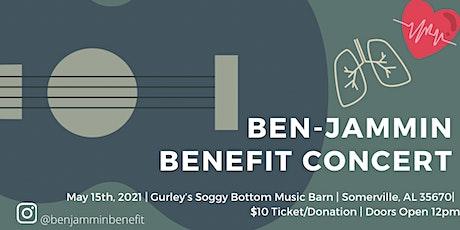 Ben-Jammin Benefit Concert tickets
