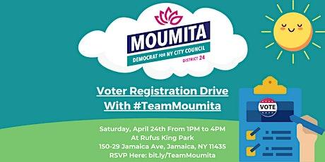 Moumita's Voter Registration Drive tickets
