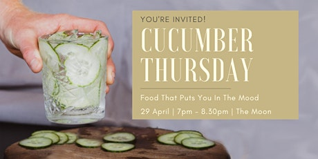Cucumber Thursday tickets