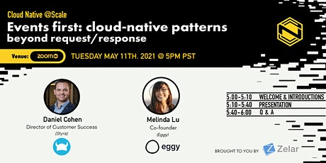 Events first: cloud-native patterns beyond request/response tickets