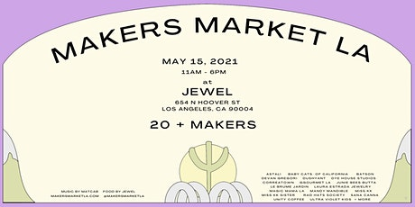 MAKERS MARKET LA tickets