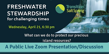 Freshwater Stewardship for Challenging Times tickets